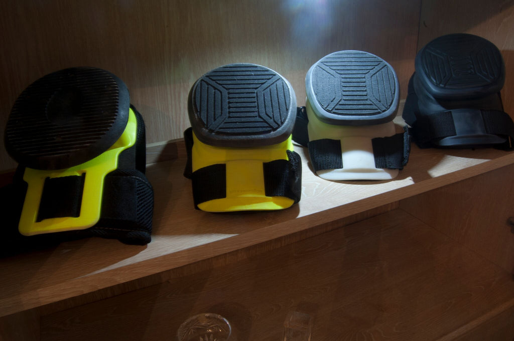 Recoil Kneepads prototypes