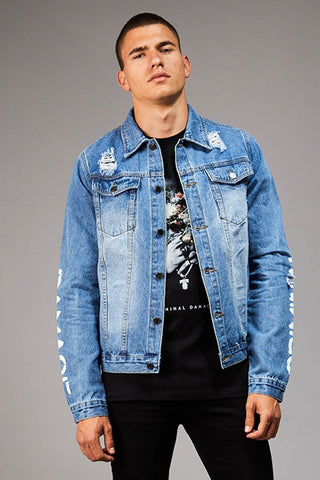 SHACKWELL JACKET - BLUE