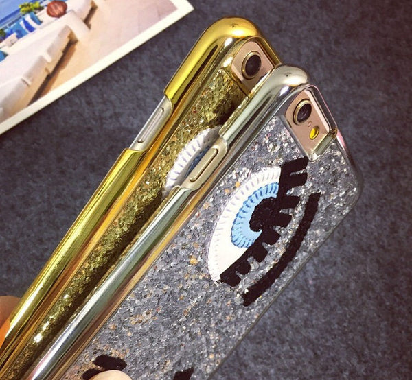 Cover Glitter fashion per iPhone