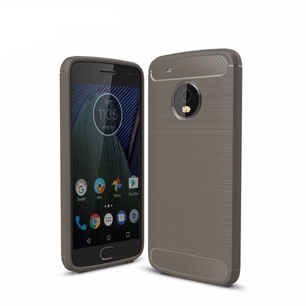 Cover in fibra di Carbonio per Lenovo Moto G5 Plus