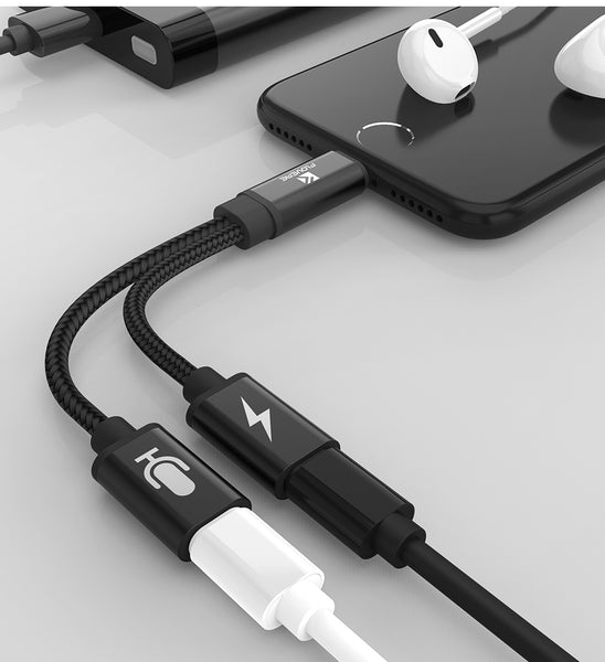 Cavo Splitter 2 in 1 per iPhone