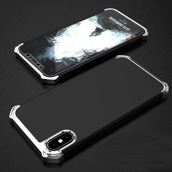 Cover ad angoli rinforzati/cromati per Iphone