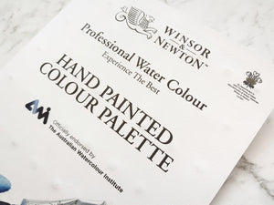 Winsor & Newton Hand Painted Complete 96 Watercolour Palette