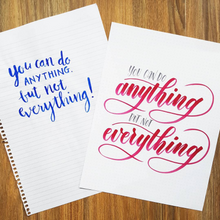 Sydney - Intermediate Brush Pen Lettering Workshop - Sunday 27th May