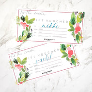 $100 Personalised Gift Voucher - Black Chalk Collective