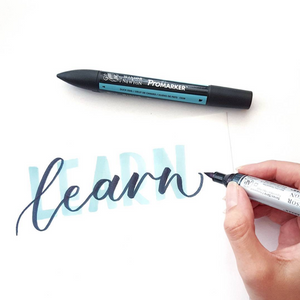 ONLINE live workshop: Intro to Brush Pen Lettering (2nd December 9am AEST)