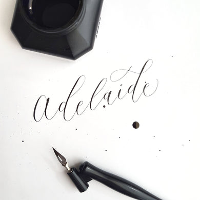 Adelaide Modern Calligraphy Workshop - Sat 21st Oct