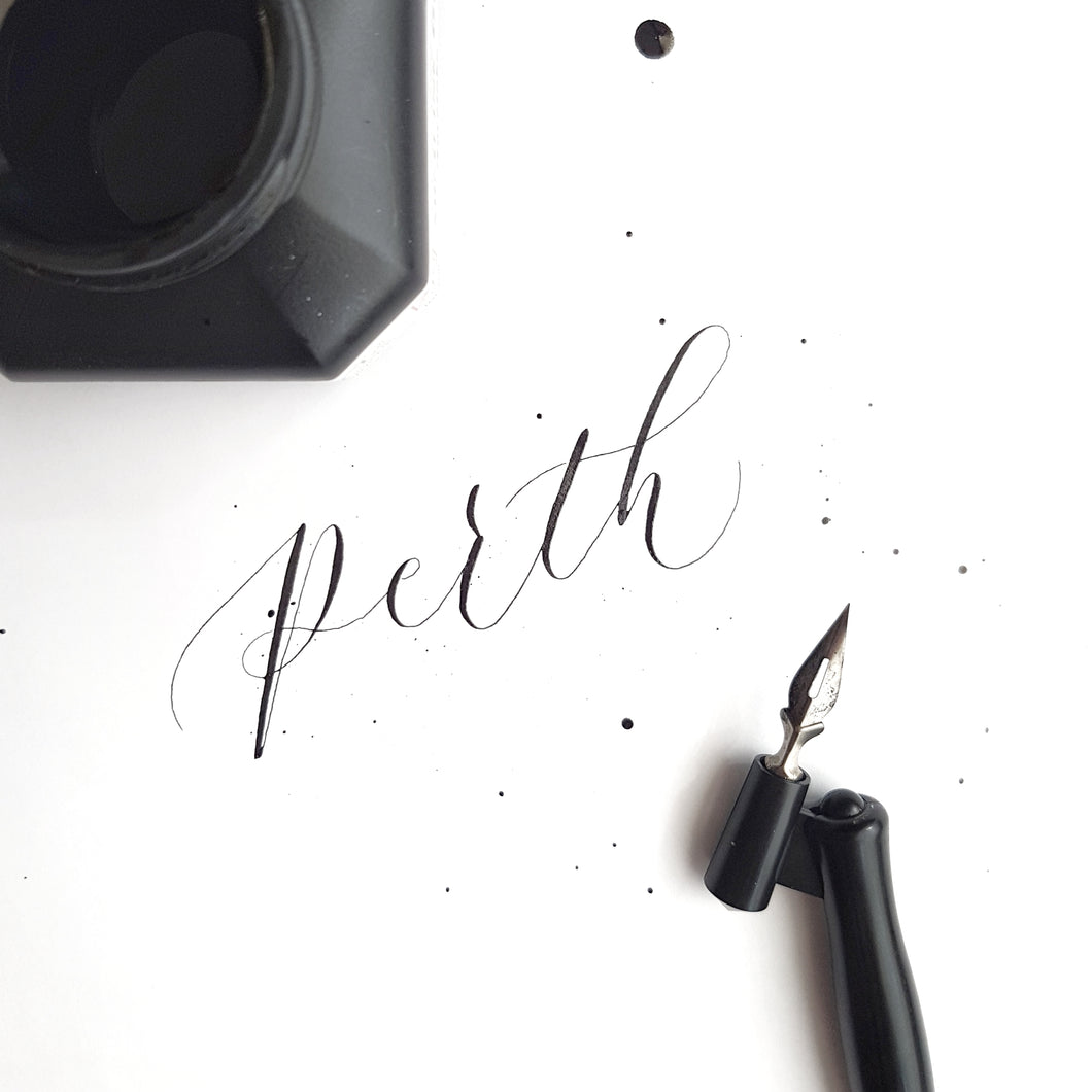 Perth - Intro to Modern Calligraphy Workshop - Saturday 18th August