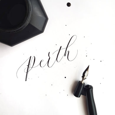 MORE SEATS ADDED! Perth Modern Calligraphy Workshop - Sat 4th Nov