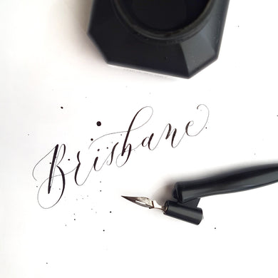 Brisbane Modern Calligraphy Workshop - Sat 9th Sep