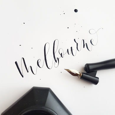 Melbourne Modern Calligraphy Workshop - Sat 13th May