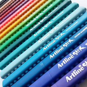 Artline Stix Brush Markers 20 colour pack