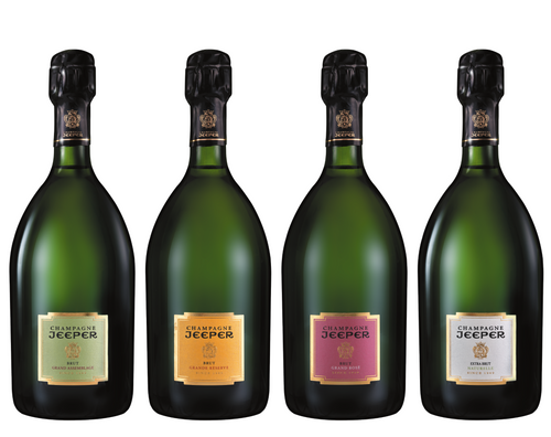 Jeeper Champagne Discovery Box - Box of 6 bottles