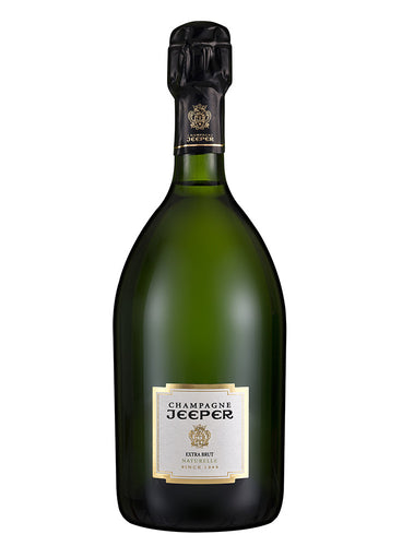 Jeeper Extra Brut Champagne (organic)