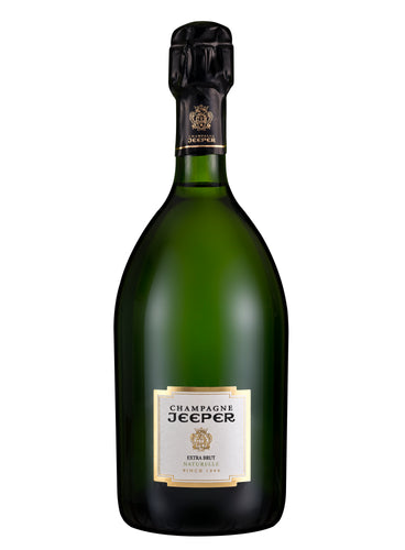 Jeeper Extra Brut Champagne (organic) - Box of 6 bottles