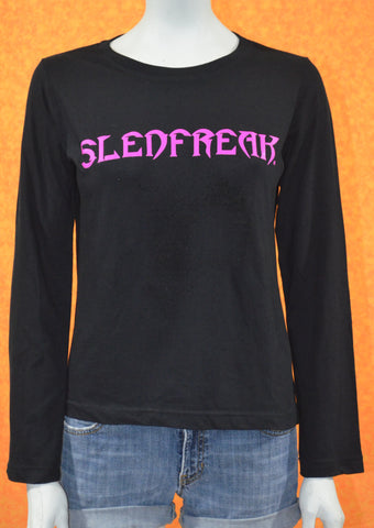 Ladies LONG SLEEVE Flip Logo Tee