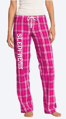 Ladies Flannel Lounge Pants