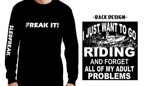 Adult Problems - Long Sleeve Tee