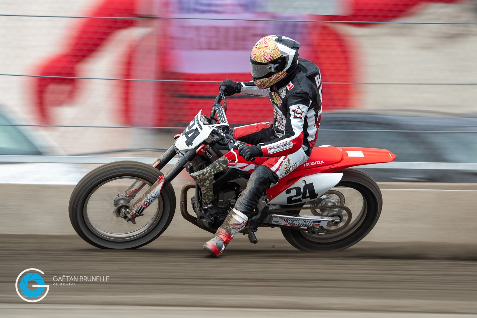 Flat Track Canada Hunter Bauer 24 Steeltown Garage Co