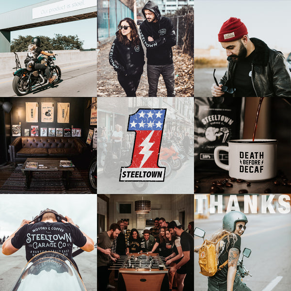 Steeltown Garage Co. Happy New Year Best Nine