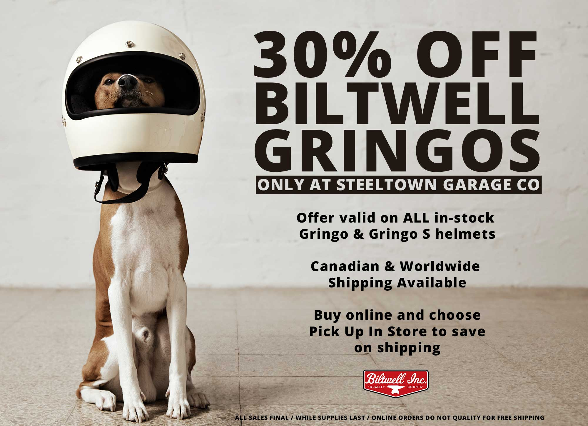 Gringo biltwell helmet sale steeltown garage co