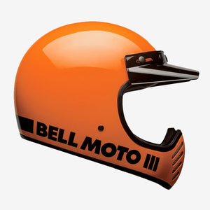 Bell Moto-3 Helmet Gloss Orange