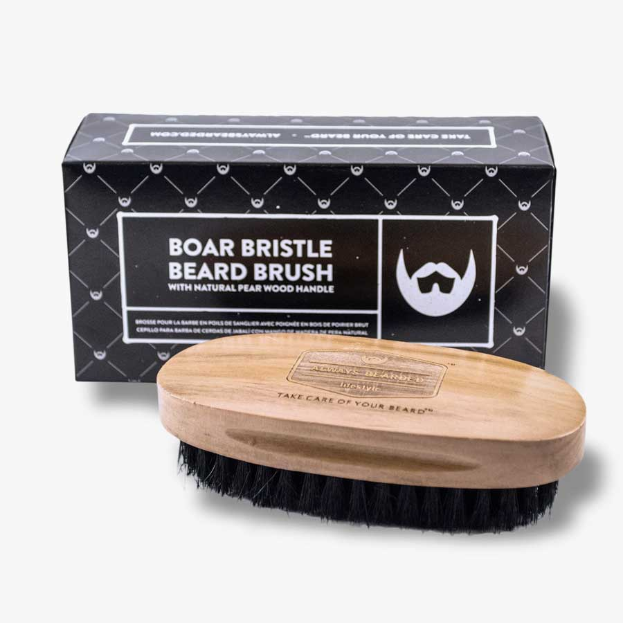 Premium Boar Bristle Beard Brush