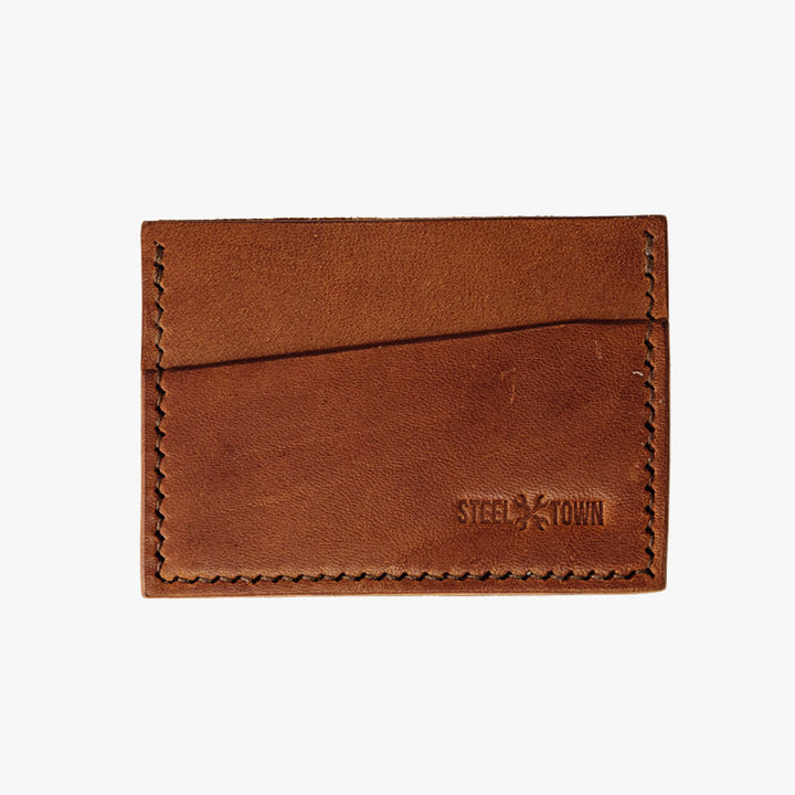 Steeltown Card Holder - Brown Harness