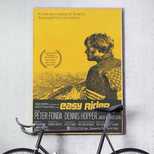 Easy Rider Vintage Motorcycle Movie Poster
