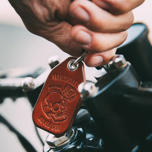 Free Spirits Leather Key Fob