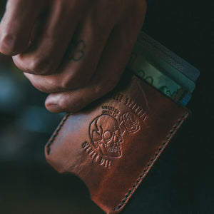 Free Spirits Leather Card Wallet