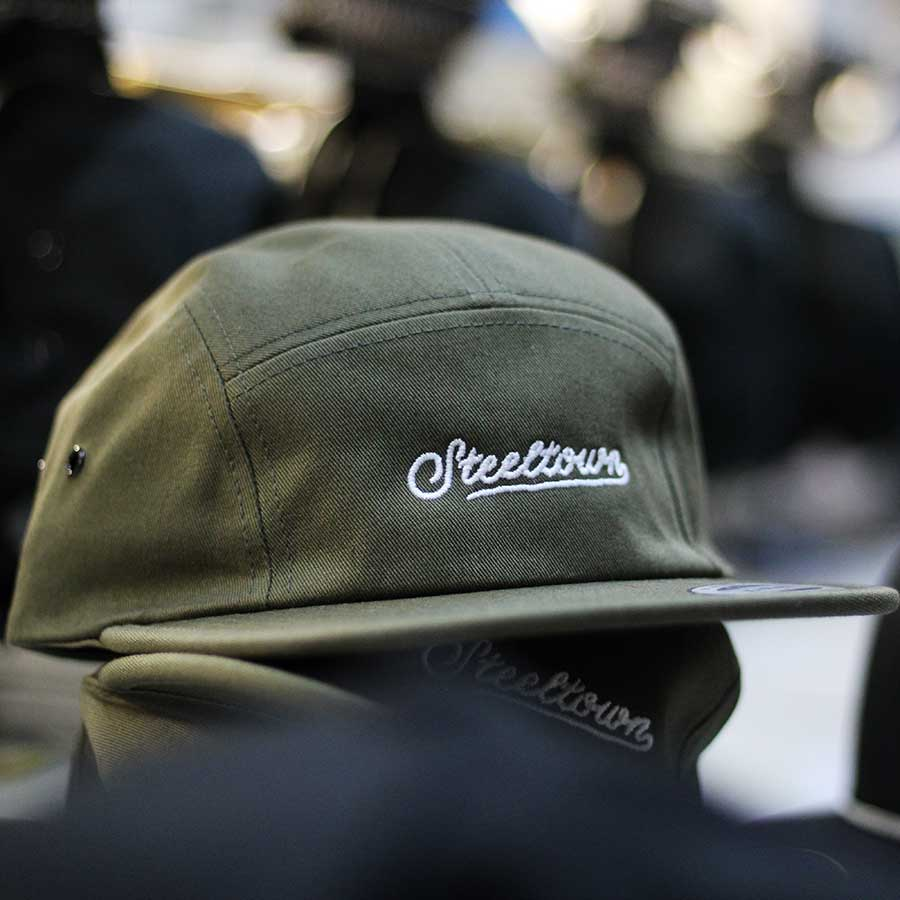 Steeltown 5 Panel Cap - Green
