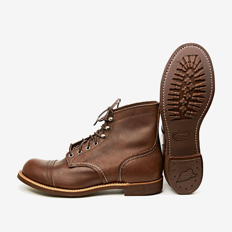 b49ef41f4ad Red Wing Iron Ranger 8111 Amber Harness - Vibram Sole – Steeltown ...