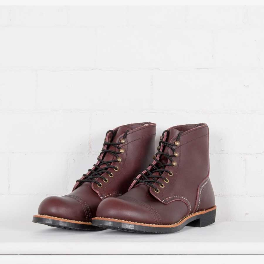 02d63f9a2ea Red Wing Iron Ranger 8119 Oxblood Leather Boots
