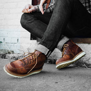 Red Wing Classic Moc Toe Copper Leather