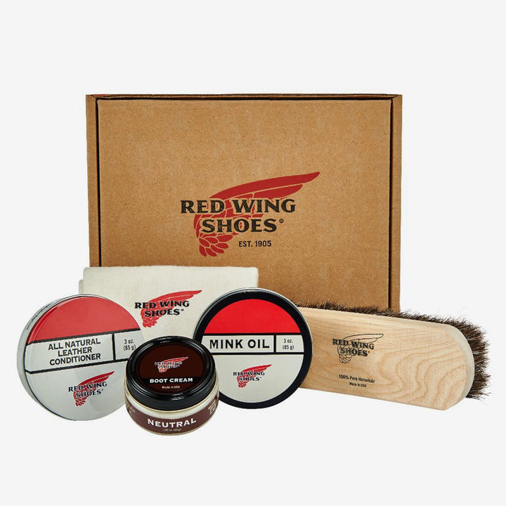 Red Wing Heritage Basic Leather Care Product Kit