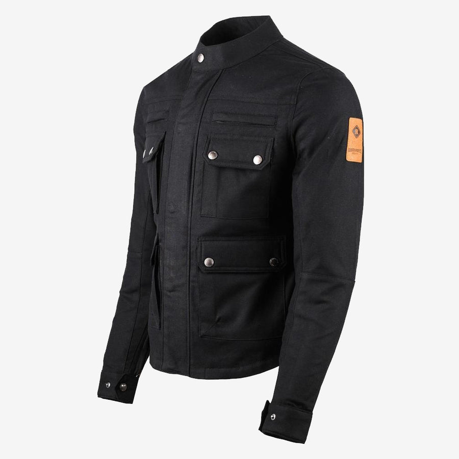 Timber Armoured Motorcycle Jacket - Black