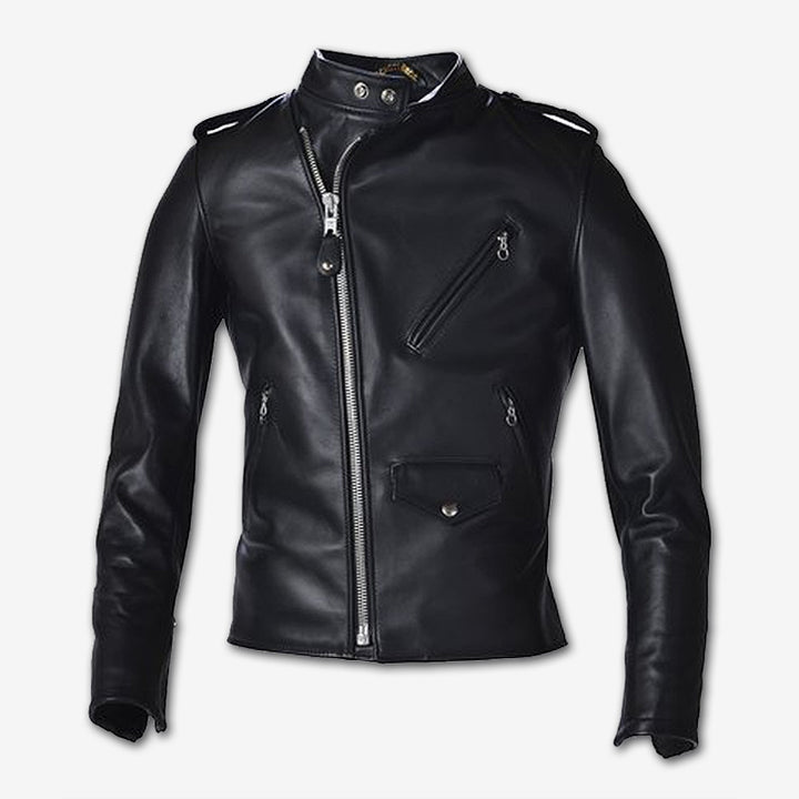 Schott NYC Cafecto Steerhide Motorcycle Jacket