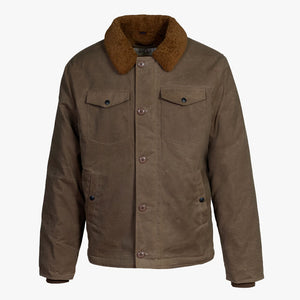 Schott Waxed Cotton Deck Jacket