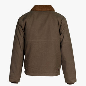Schott Waxed Cotton Deck Jacket - Khaki