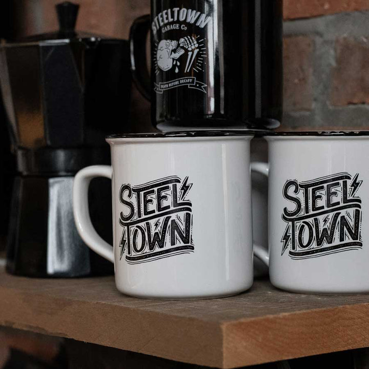 Steel Town Bolt Coffee Mug