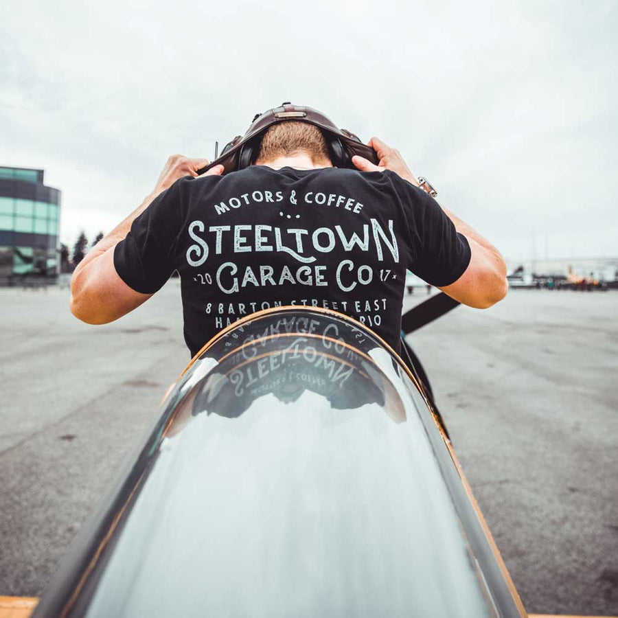 Steeltown Address Tee