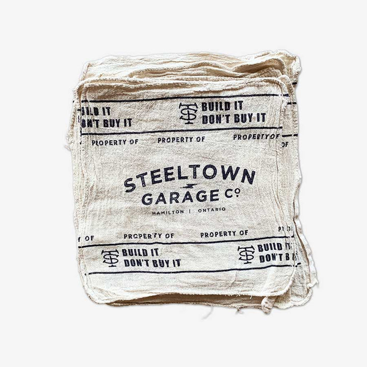 Steeltown Shop Rag - 2 Pack
