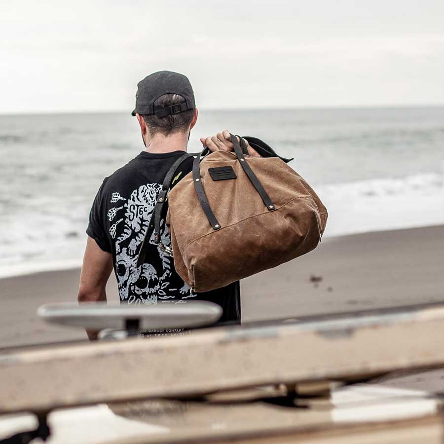 Steeltown Waxed Canvas Track Bag