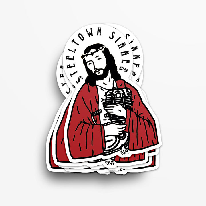 Steeltown Sinner Sticker