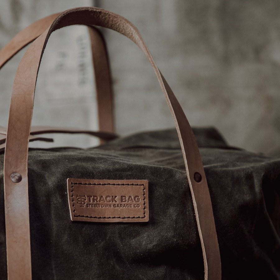 Waxed Canvas Track Bag 2.0