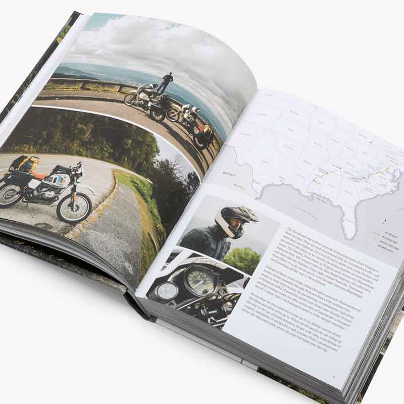 Two Wheels South: A Motorcycle Adventure Hardcover
