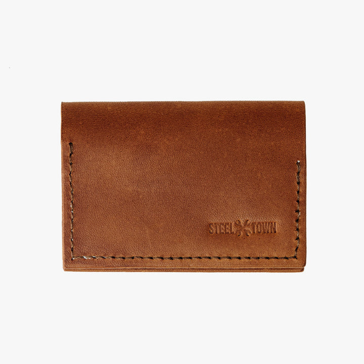 Steeltown Fold Wallet - Brown Harness