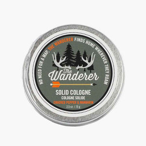 """The Wanderer"" Solid Cologne From Walton Wood Farm"