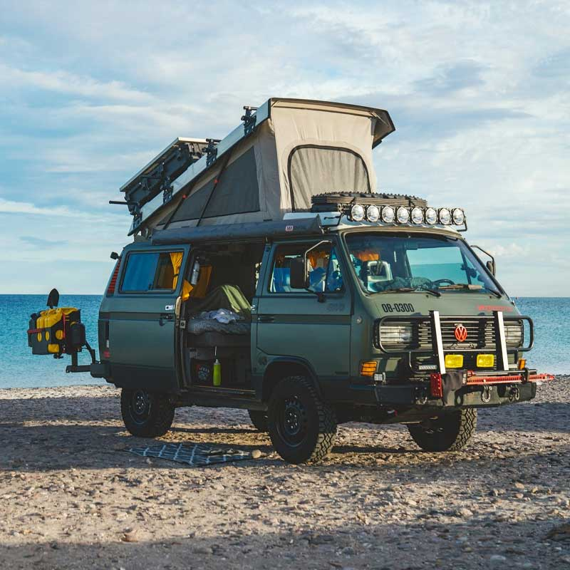 Hit The Road - Vans, Nomads and Roadside Adventures